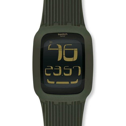Swatch Touch verde unisex Reloj