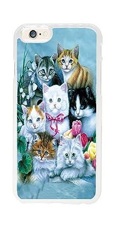 iPhone 6 Plus Funda, iPhone 6S Plus Case, Generic Gatitos ...