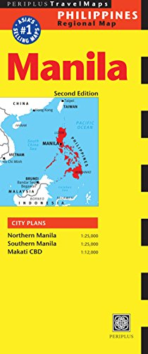 Manila Travel Map Second Edition (Periplus Travel Maps)