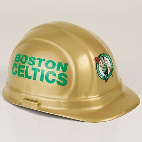 3549e5a3743 Amazon.com  Wincraft NBA Boston Celtics Packaged Hard Hat  Sports ...