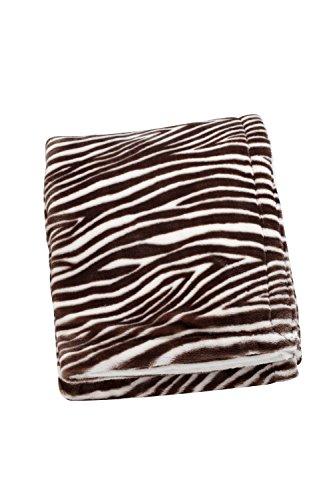 Sadie & Scout Zahara - Zebra Print Blanket