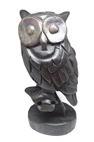 wood carved owl - 3