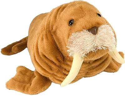 Wild Republic Walrus Stuffed Animal, 15-Inch (Walrus Plush Stuffed Animal)