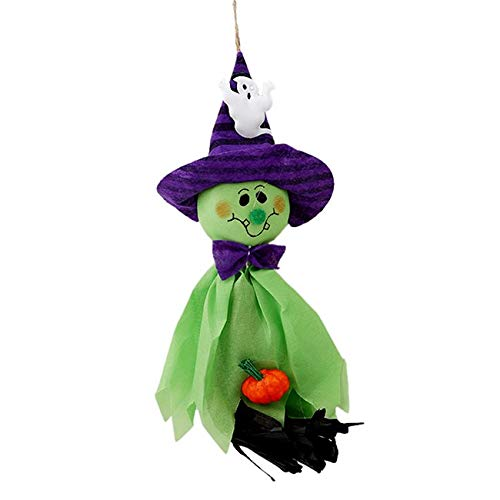 Decoration Halloween - 1pc Scarecrow Horror Ghost Pendant Halloween Party Bar Decor Decoration 3 Colors Ej975585 - Halloween Supplies Decorative Decoration -