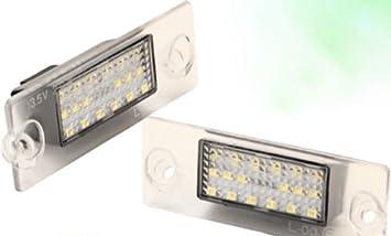 2x Neu LED SMD Kennzeichenbeleuchtung Nummernschildbeleuchtung Wei/ß 032106Ki