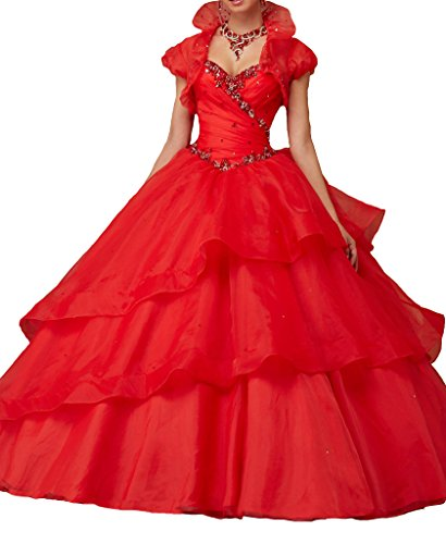Amazon.com: MCandy Womens Sweetheart Vestidos 15 Corset Floor Length Prom Quinceanera Dresses: Clothing