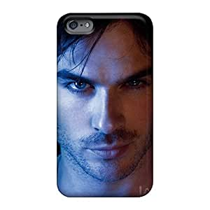 Excellent Hard Phone Covers For Apple Iphone 6 Plus With Provide Private Custom Realistic Ian Somerhalder Series PhilHolmes