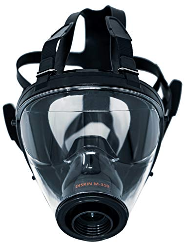 DISKIN Full Face Respirator CBRN Respiratory Safety Mask Made in Italy