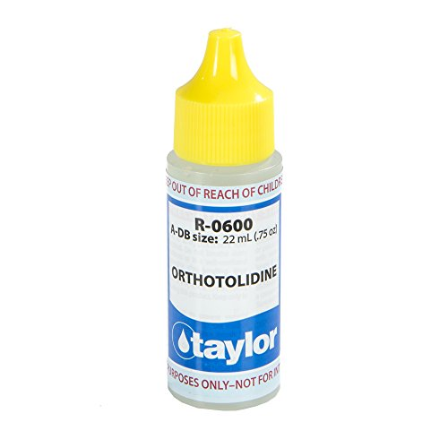 Taylor Replacement Reagents R-0600-A-DB Orthotolidine - 3...