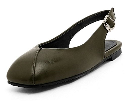 Women Flats Shoes Sandals Pointed Toe Shoes Girls Loafers Fashion Casual Soft (Bronze 38/7 B(M) US ()