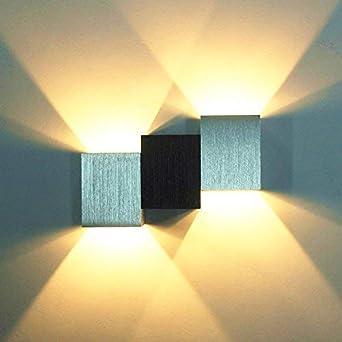 Louvra Applique Murale Led Intérieur 6w Lampe Décorative Moderne