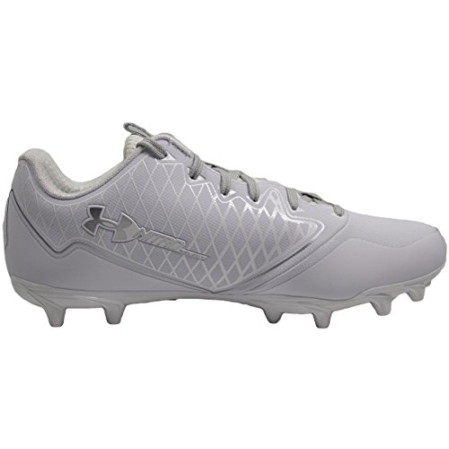 Under Armour Men's UA Nitro Select Low MC White/Metallic Silver 11 D US