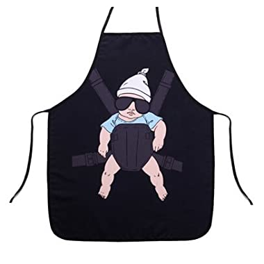 Yunko Supper Daddy Funny Kitchen Apron Funny Creative Cooking Aprons for Men Boyfriend Gifts