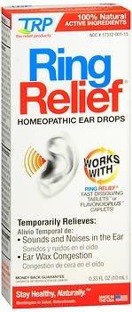 Ring Relief Ear Drops Size .33z Ring Relief Ear Drops .33z