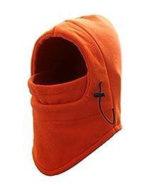 WSLCN Unisex Kids Adult Multifunction Thermal Fleece Balaclava Hood Snood Mask