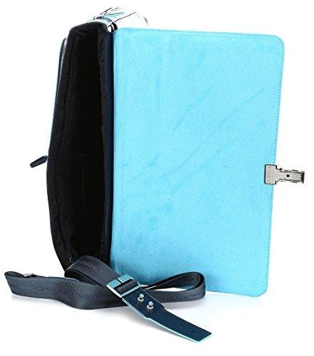 CA3111B2 Blu Blue cartella notte espandibile porta Piquadro Square computer notte Blu TqYx440O