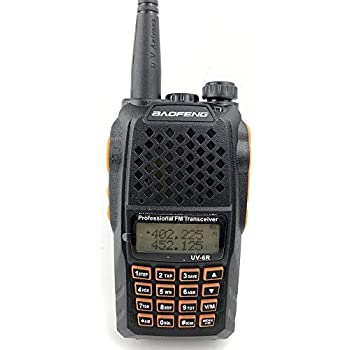 BAOFENG UV-6R Dual-Band Two-way Walkie-Talkie VHF//UHF 136-174//400-520MHz Radio