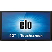 Elo Touch E222369 4202L 02 Series Infrared 42 Interactive Digital Signage, VGA/HDMI/Displayport Video I/F, USB Touch Controller I/F, Worldwide-Version, Clear Glass, Gray
