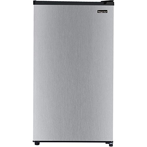 (Magic Chef Energy Star 3.2-Cu. Ft. Compact All-Refrigerator with Stainless Steel Door)