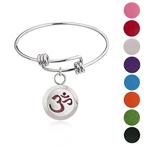 BESTTERN Essential Diffuser Bracelet Stainless