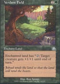 0a06528f3bb Magic  the Gathering - Verdant Field - Prophecy