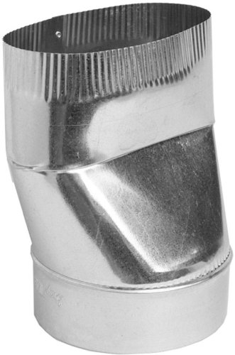 Speedi-Products SM-OTRS 06 6-Inch Oval to Round Straight Boot - Round Duct