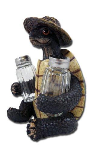 Turtle Salt (Turtle Soup Salt and Pepper Shaker Set - Green Tortoise Box Sea Turtles)