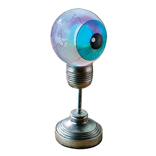 Design Toscano The Evil Eye Illuminated Sculpture - Eyeball Lamp - Halloween -