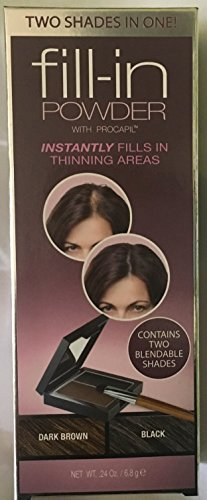 Cover Your Gray Cyg Fill In Powder, Dark Brown/Black
