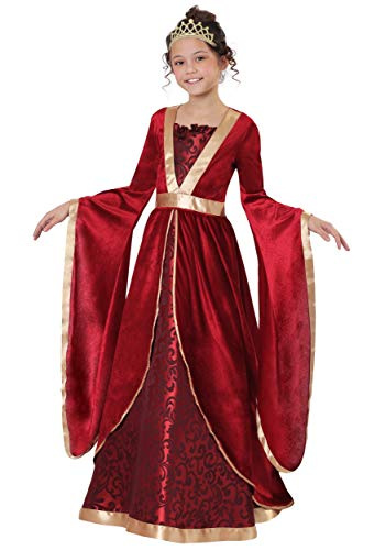 Girl's Renaissance Maiden Costume Large