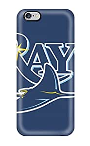 New DanRobertse Super Strong Tampa Bay Rays Tpu Case Cover For Iphone 6 Plus(3D PC Soft Case)