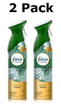 Febreze Air Effects Air Freshener - Limited Edition - Frosted Pine, 9.7 Oz (Pack of 2)