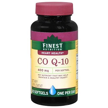 Finest Nutrition, Co Q-10 400 mg, One Per Day, 30 Softgels (1 10 Co)