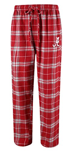 "Concepts Sport Men's NCAA ""Huddle"" Flannel Pajama Pants with Logo"