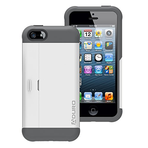 Aduro Rugged iPhone Kick Stand Compartment