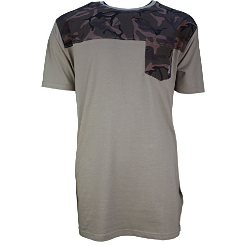 SoulStar Herren T-Shirt beige beige Einheitsgröße