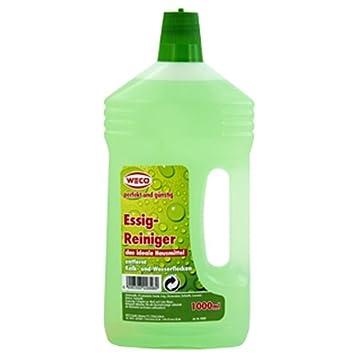 Weco Küchen essigreiniger 1 l weco kalkreiniger reinigungsmittel