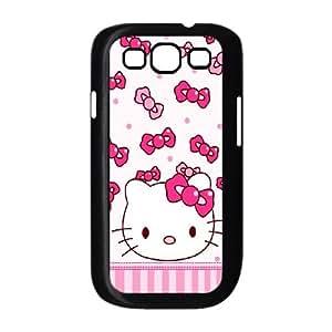 Polka-Dot-Design Samsung Galaxy S3 9300 Cell Phone Case Black Udcjt