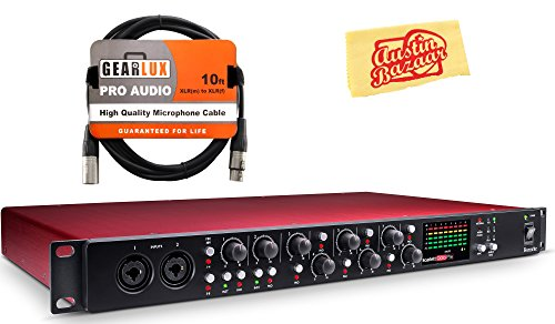 - Focusrite Scarlett OctoPre Microphone Preamp Bundle with XLR Cable and Austin Bazaar Polishing Cloth