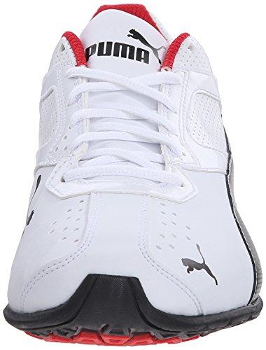 6 Synthétique silver White black De Puma Course Fm Tazon Chaussure ZvcqFxH