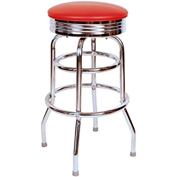 Amazon Com Amerihome Bs1208r Soda Fountain Bar Stool
