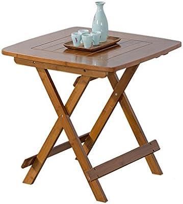 Li Ye Feng Shop Mesas de Comedor Mesa Plegable Mesa de Comedor ...