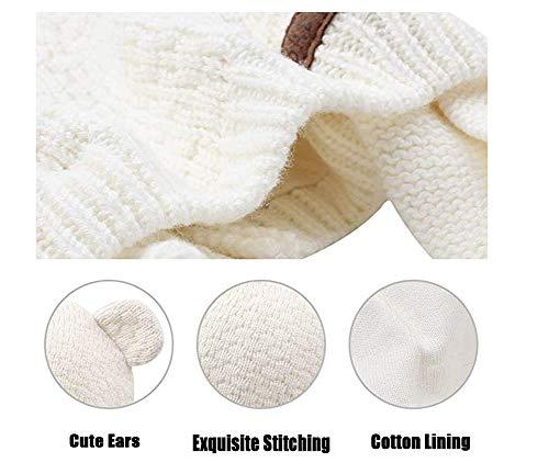 Winter Ahaha in Hat Baby bianco cotone v5BqYwA