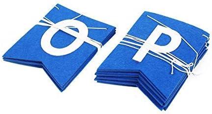 We are so Proud of You Blue Graduation Banner Felt Banner for High School NO DIY Assembled Graduation Party Supplies 2020 Blue Graduation Decorations Congratulations Grad Party Decorations