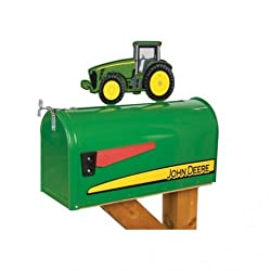 All States Ag Parts Tractor Mailbox with Topper -