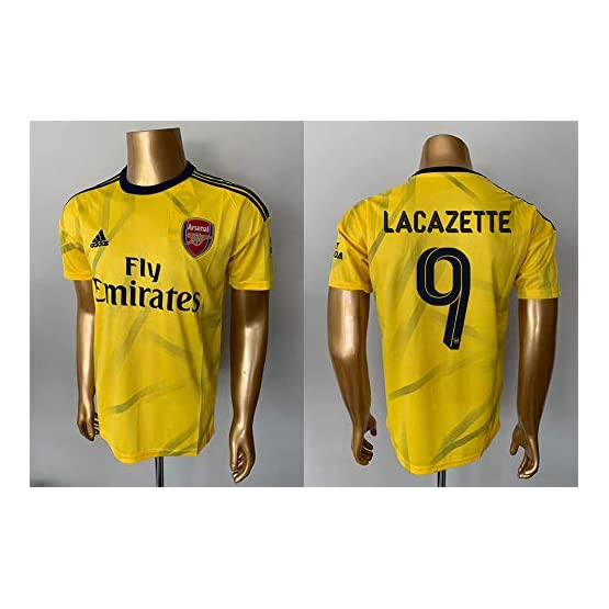 Peak LACAZETTE#9 Arsenal Away Soccer Jersey 2019-2020