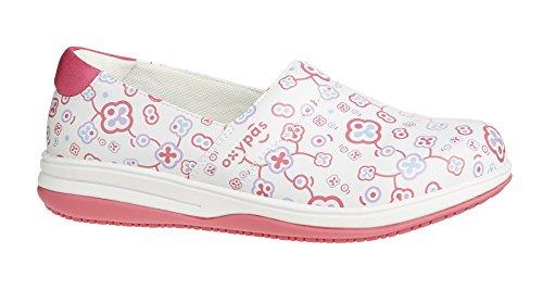 Oxypas Suzy, Women's Safety Shoes, White (Flr), 5 UK (38 EU)