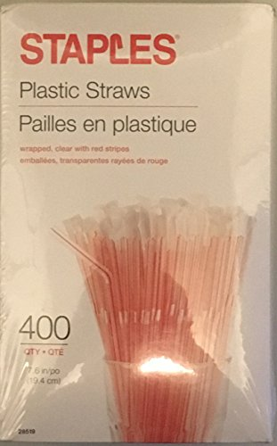 staples-plastic-flexible-straws-individually-wrapped-76-inches-400-box-clear-with-red-stripes