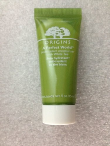 Lot of 3 Origins a Perfect World Antioxidant Moisturizer with White Tea 0.5 Oz/15 Ml X 3 Total 45 ()