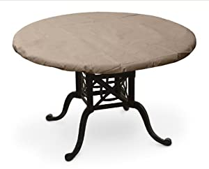 Good KoverRoos III 37420 38 Inch Round Table Top Cover, 42 Inch Diameter, Taupe